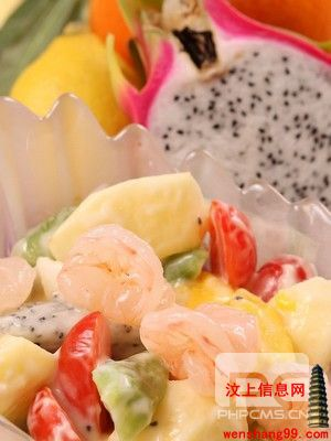 水果与海鲜不容易消化